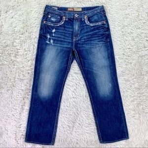Big Star Voyager Straight Relaxed Distressed Jeans
